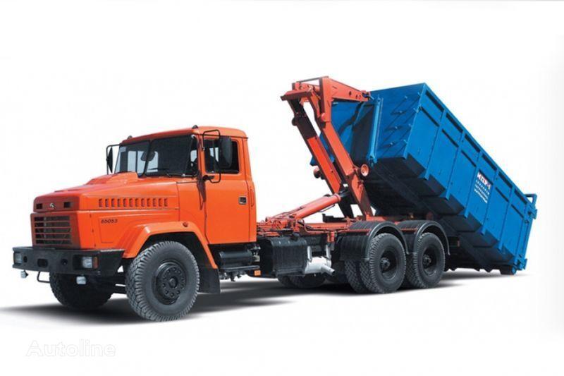 KRAZ 65053 MPR-1  kamion rol kiper
